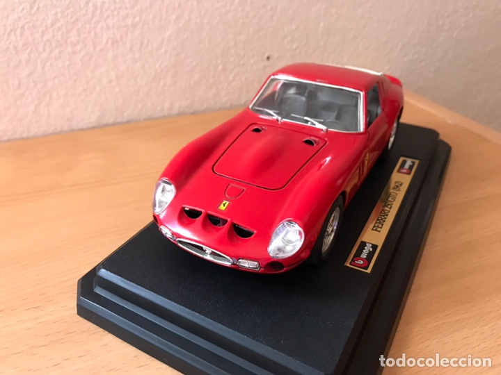 Coches a escala: Precioso coche FERRARI 250 GTO Burago 1:24 - Foto 3 - 164570876