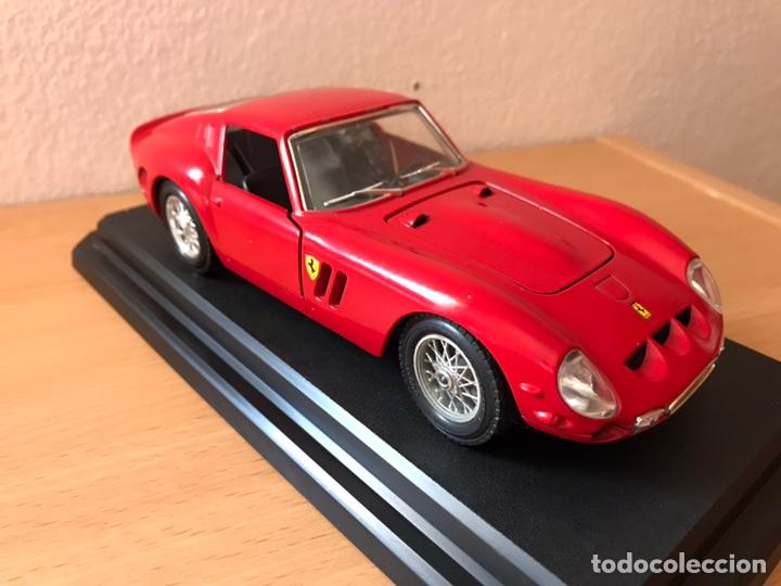 Coches a escala: Precioso coche FERRARI 250 GTO Burago 1:24 - Foto 5 - 164570876