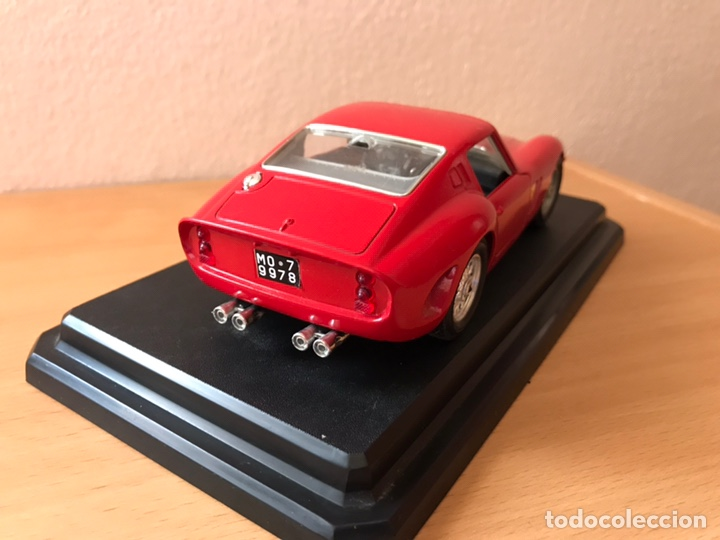 Coches a escala: Precioso coche FERRARI 250 GTO Burago 1:24 - Foto 7 - 164570876