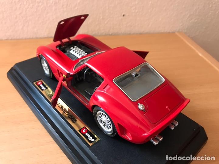 Coches a escala: Precioso coche FERRARI 250 GTO Burago 1:24 - Foto 9 - 164570876