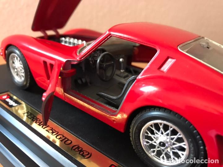 Coches a escala: Precioso coche FERRARI 250 GTO Burago 1:24 - Foto 11 - 164570876