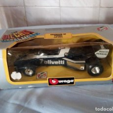 Coches a escala: BRABHAM BT TURBO BURAGO 1983,EN CAJA ORIGINAL.. Lote 166965060