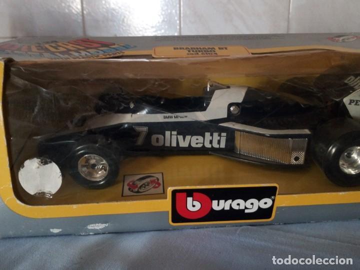 Coches a escala: brabham bt turbo burago 1983,en caja original. - Foto 2 - 166965060