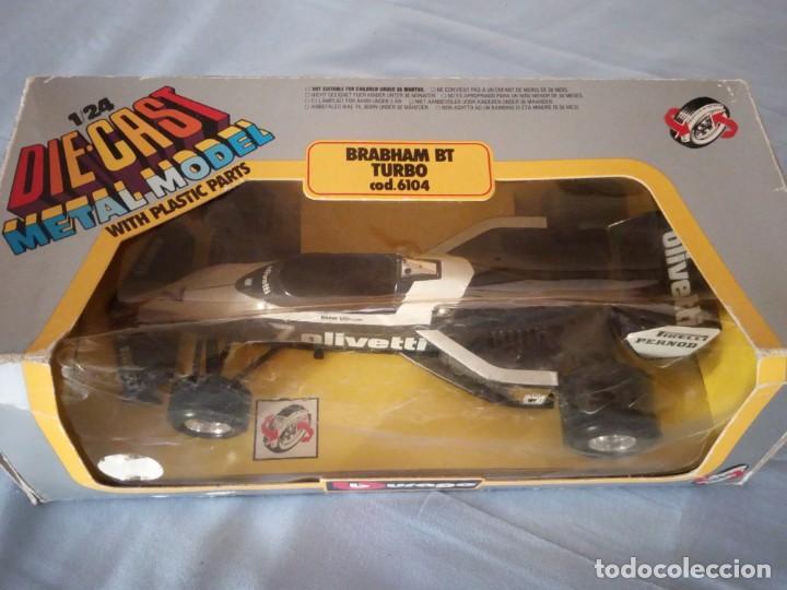 Coches a escala: brabham bt turbo burago 1983,en caja original. - Foto 3 - 166965060