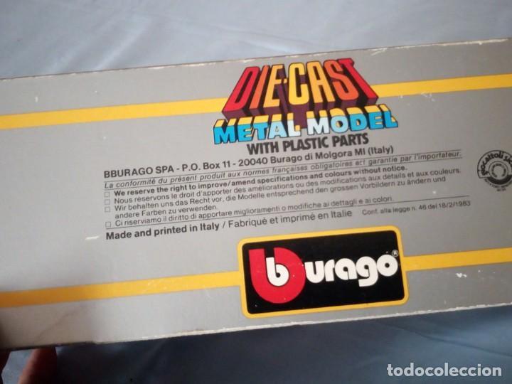 Coches a escala: brabham bt turbo burago 1983,en caja original. - Foto 4 - 166965060