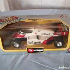 Coches a escala: MCLAREN MP4/2 TURBO BURAGO 1983. Lote 166965116