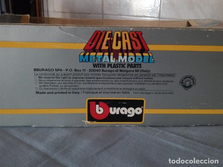 Coches a escala: mclaren mp4/2 turbo burago 1983 - Foto 5 - 166965116