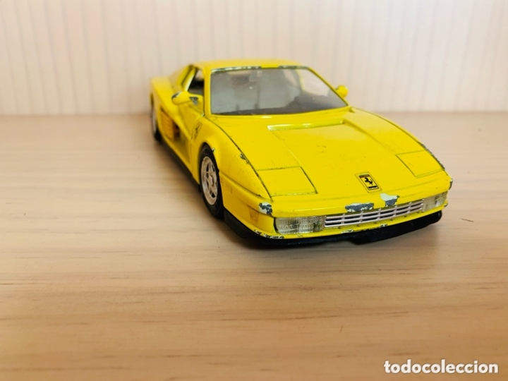 Coches a escala: FERRARI TESTAROSSA GUILOY MADE IN SPAIN ESCALA 1/24 - Foto 7 - 173644159