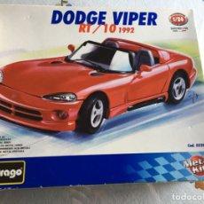 Coches a escala: DODGE VIPER RT/10 1992 BURAGO. Lote 183785893