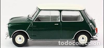 Coches a escala: Austin Mini Cooper S 1965 escala 1/24 de Hachette - Foto 3 - 184596563