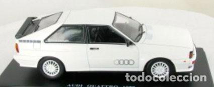 Coches a escala: Audi Quattro 1980 escala 1/24 de Hachette - Foto 5 - 184656507