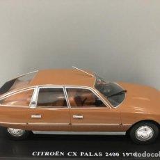 Coches a escala: COCHE CITROËN CX PALAS 2400 1976 CON MATRÍCULA DE ALMERÍA Y SU FASCÍCULO CORRESPONDIENTE. ESC 1/24. Lote 186251627
