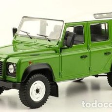 Coches a escala: LAND ROVER DEFENDER 110 ESCALA 1/24 DE HACHETTE. Lote 187590766