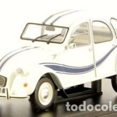 Coches a escala: CITROEN 2 CV FRANCE 3 ESCALA 1/24 DE HACHETTE. Lote 188037808