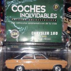 Coches a escala: CHRYSLER 180 DE 1975.ESC.1/24.COCHES INOLVIDABLES SALVAT Nº 17.. Lote 191135766