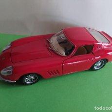 Coches a escala: BURAGO FERRARI 275 GTB 4 1966 1/24 MADE IN ITALY. Lote 191243577