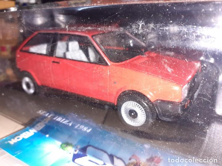 Coches a escala: SEAT Ibiza de 1984.Coches inolvidables nº 15.Salvat. - Foto 4 - 191254018