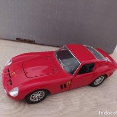 Coches a escala: BURAGO FERRARI 250 GTO 1962 1/24 MADE IN ITALY . Lote 191343877