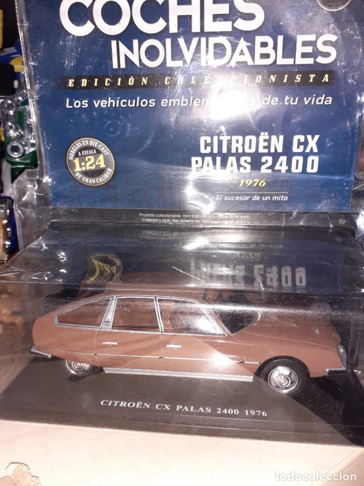 CITROEN CX PALAS 2400 DE 1976.ESC.1/24 SALVAT.FASCÍCULO Nº 16. (Juguetes - Coches a Escala 1:24)