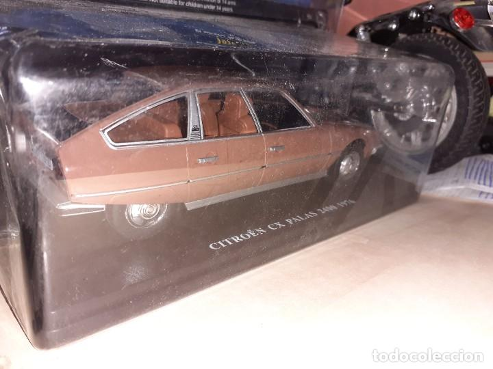 Coches a escala: Citroen CX Palas 2400 de 1976.Esc.1/24 Salvat.Fascículo nº 16. - Foto 3 - 191736450
