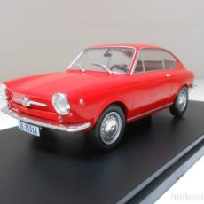 Coches a escala: COCHE SEAT 850 COUPE ROJO ESCALA 1:24 1/24 CAR MODEL ALFREEDOM. Lote 209962702