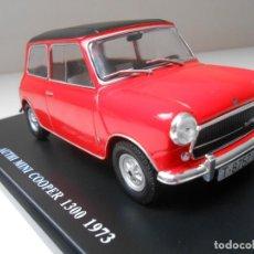 Coches a escala: COCHE MINI AUTHI COOPER 1300 1973 1/24 1:24 MODEL CAR ENGLISH ENGLAND ALFREEDOM MINIATURE. Lote 205052165