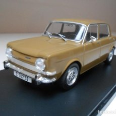 Coches a escala: COCHE 1/24 SIMCA 1000 AÑO 1969 METAL 1:24 MODEL CAR MINIATURE ALFREEDOM SALVAT. Lote 192728201
