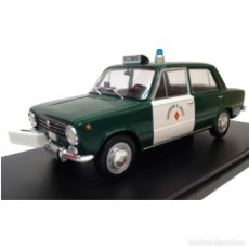 Coches a escala: 1:24 SEAT 124D 1973 RADAR GUARDIA CIVIL IXO SALVAT DIECAST COCHE. Lote 194303276