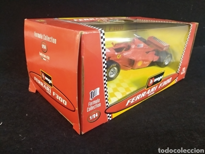 Coches a escala: Burago Ferrari F300 1998 1:24 - Foto 2 - 194316475
