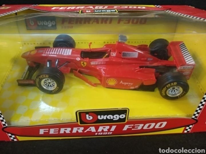 Coches a escala: Burago Ferrari F300 1998 1:24 - Foto 3 - 194316475
