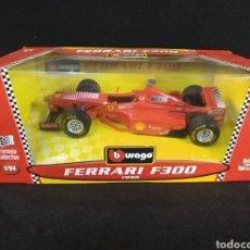 Coches a escala: BURAGO FERRARI F300 1998 1:24. Lote 194316475