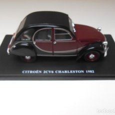 Coches a escala: COCHE CITROEN 2CV 2CV6 CHARLESTON 1982 2 CABALLOS 1/24 1:24 SALVAT MODEL CAR. Lote 195140990