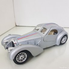 Coches a escala: BUGATTI ATLANTIC 1936 BURAGO ESCALA 1 24. Lote 195203766