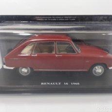Coches a escala: RENAULT 16 (1965) ESCALA 1/24 SALVAT IXO. Lote 195302801