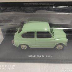 Coches a escala: COCHE SEAT 600 D 1963. Lote 195413706