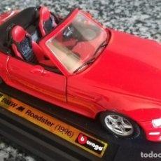 Coches a escala: BMW Z3 M ROADSTER 1996 , ESCALA 1:24 , MARCA BBURAGO , BURAGO 1/24. Lote 196344218