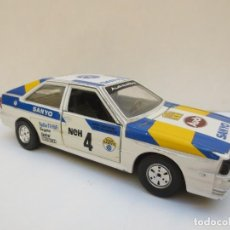 Coches a escala: AUDI QUATTRO - ESCALA 1/24 - BURAGO - MADE IN ITALY. Lote 197050617