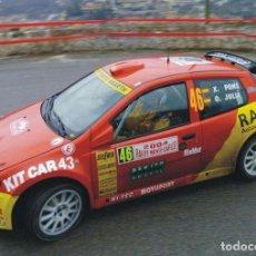 Coches a escala: [CALCA] FIAT PUNTO S1600 #46 X. PONS RALLY MONTE CARLO 2004 (REF. 048DECA32) 1:32 KIT CAR 43. Lote 199094093