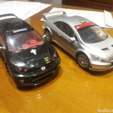 Coches a escala: 2 COCHES TAMIYA. 206 307. Lote 199824523