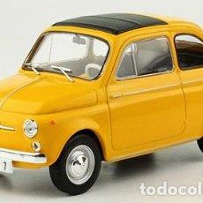 Coches a escala: FIAT 500 1960 ESCALA 1/24 DE SALVAT. Lote 200726192