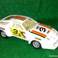 Coches a escala: LOTE OFERTA COCHE DE METAL - MIRA - PORSCHE 928 RALLYE - MADE IN SPAIN - ESCL 1/25. Lote 201348113