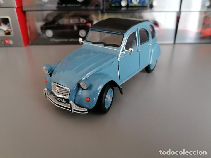 Coches a escala: CITROEN 2CV WELLY ESCALA 1/24 - Foto 2 - 200582492