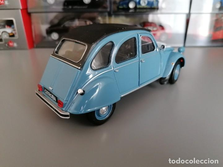 Coches a escala: CITROEN 2CV WELLY ESCALA 1/24 - Foto 3 - 200582492