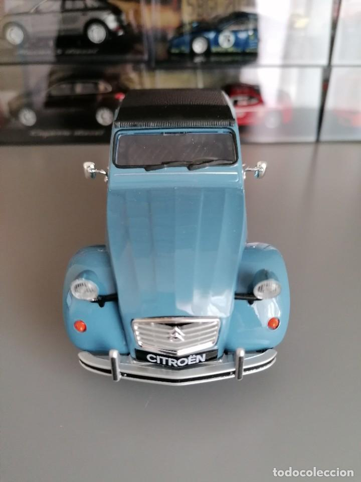 Coches a escala: CITROEN 2CV WELLY ESCALA 1/24 - Foto 4 - 200582492