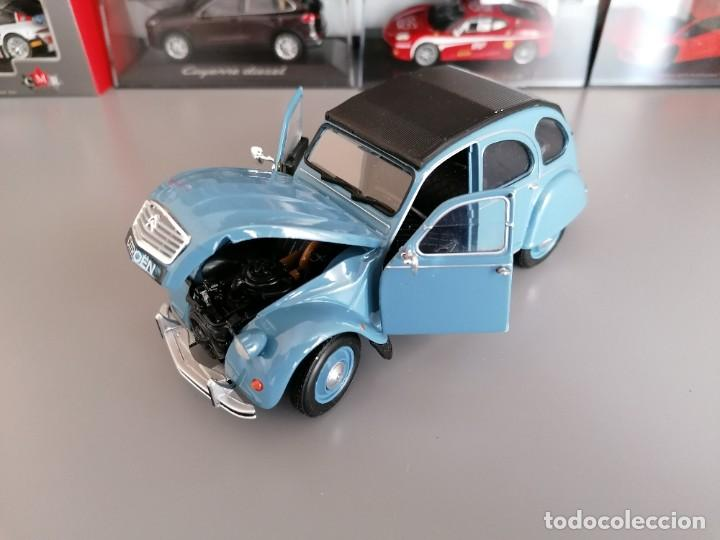 Coches a escala: CITROEN 2CV WELLY ESCALA 1/24 - Foto 6 - 200582492