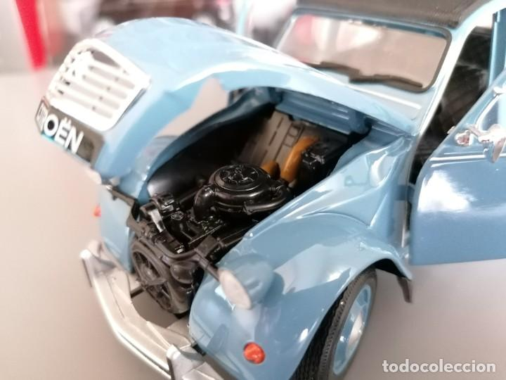 Coches a escala: CITROEN 2CV WELLY ESCALA 1/24 - Foto 7 - 200582492