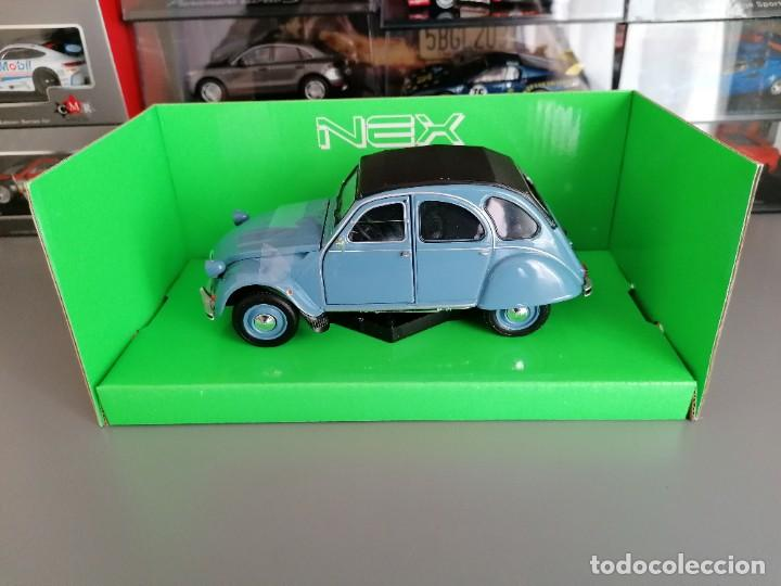 Coches a escala: CITROEN 2CV WELLY ESCALA 1/24 - Foto 9 - 200582492