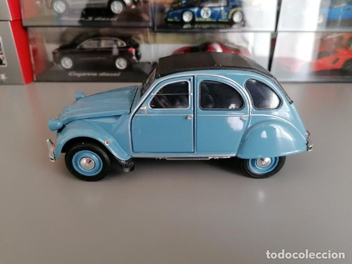 CITROEN 2CV WELLY ESCALA 1/24 (Juguetes - Coches a Escala 1:24)