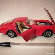 Coches a escala: COCHE FERRARI 275 GTB 1966 - COCHES - AUTO - ESCALA 1/24 - ROJO. Lote 205336253