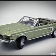 Coches a escala: FORD MUSTANG CONVERTIBLE 1968. FRANKLIN MINT. . COLLECTOR CLUB EXCLUSIVE EDITION. SCALE 1/24. Lote 206177560
